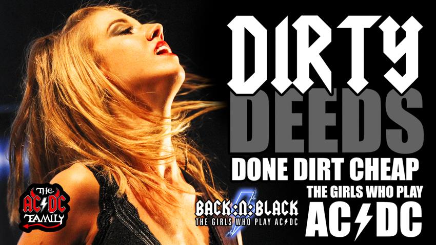 Dirty Deeds Done Dirt Cheap - BACK:N:BLACK